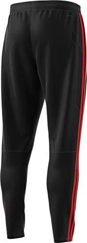 adidas Men's Soccer Tiro 19 Training Pant, Black/Red, Large