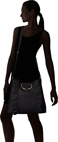 Black Bag amp; Shirt Ring Jeans with Large T Ruffle RUpwH8nq