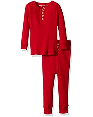 Unisex Baby Pajama Tee And Pant Set (Baby)