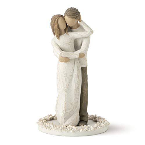 - Willow Tree Together, sculpted hand-painted cake topper