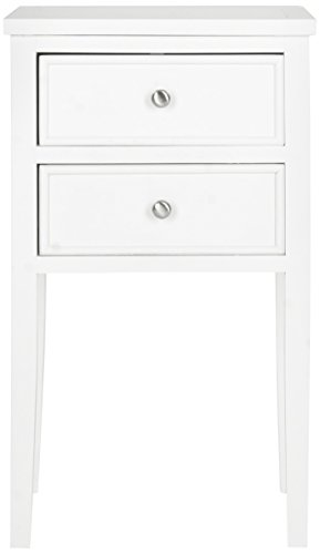 Collection Tall Table (Safavieh American Homes Collection Toby White End Table)
