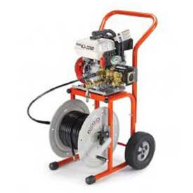 H30 Cart (Ridgid KJ2200 Gas Jetter W/H30 Cart)