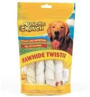 Munch & Crunch Rawhide Twistix (4 Pack) 4 x 35g