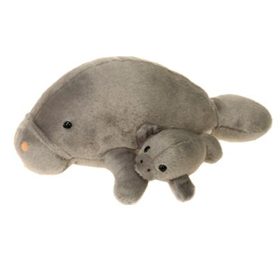 Mama Manatee with Baby Stuffed Animal<br>Fiesta Toy
