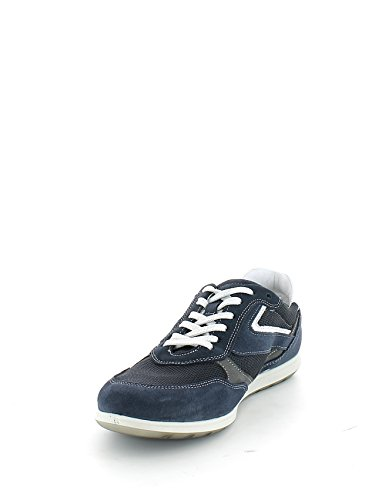 IGI&Co - Zapatos de cordones de Piel para hombre Azul Blu scuro Azul