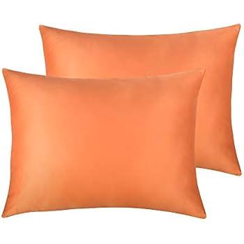 Amazon Com Veeyoo Silkly Satin Pillowcase 2 Pack For Hair