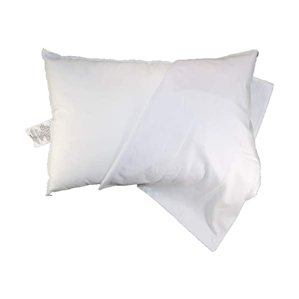 Sophie & Leighanne Toddler Bed Pillow 13″ x 19″ with 100% Cotton Pillowcase