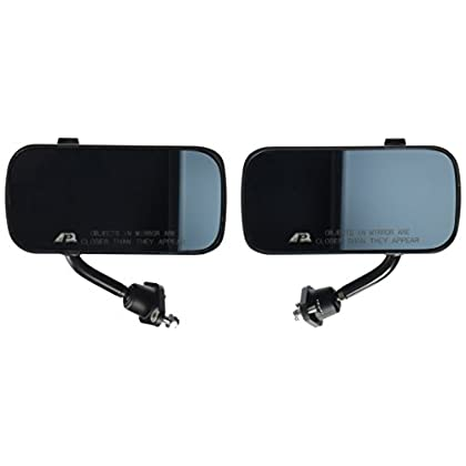 Image of APR Performance CB-100004B Carbon Fiber Mirror (Larger Lens, Universal Formula 3) Mirrors & Parts