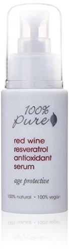 100% Pure Red Wine Resveratrol Antioxidant Serum, 1.0 Fluid Ounce