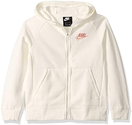 Nike Sportswear Full Zip Hoodie G Sudadera con Capucha, Niñas ...