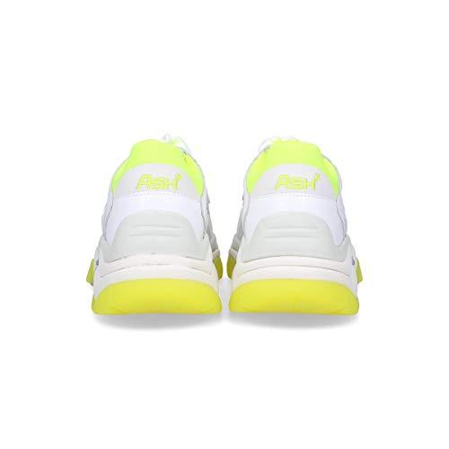 Ash Zapatillas Mujer Cuero Addict03w Blanco 8rFqgS8w