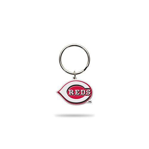 Rico Industries MLB Cincinnati Reds MLB Flex Key Chain, Red, 1.5