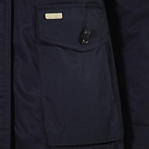 Giaccone S lm10 Woolrich Scarlett Donna Nero Wwcps2685 Navy dqSSWtYZ