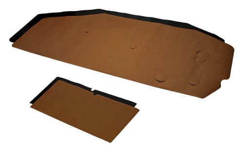 (M-4-7) Compatible With 1968-72 A-Body Chevelle GTO 442 GS Door Panel Paper/Black Water Shields Convert
