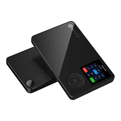 SafePal S1 Cryptocurrency Hardware Wallet, Bitcoin Wallet, Wireless Cold Storage for Multi-Cryptocurrency, Internet Isolated & 100% Offline, Securely Stores Private Keys, Seeds & Digital Assets (Best Cryptocurrency Wallet Hardware)