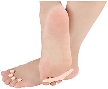 Festiveasd Bunion Corrector, Pediküre Toe Separators Bulk Nail Art Finger Separators Weichschaum Toe Stretcher für Zehen & Finger entspannende Holding