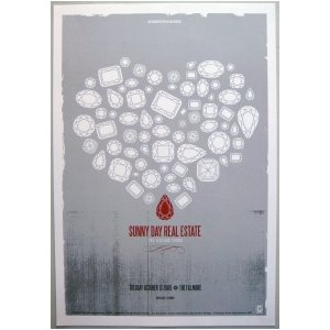 Sunny Day Real Estate Poster w/The Jealous Sound 2009 Concert ()
