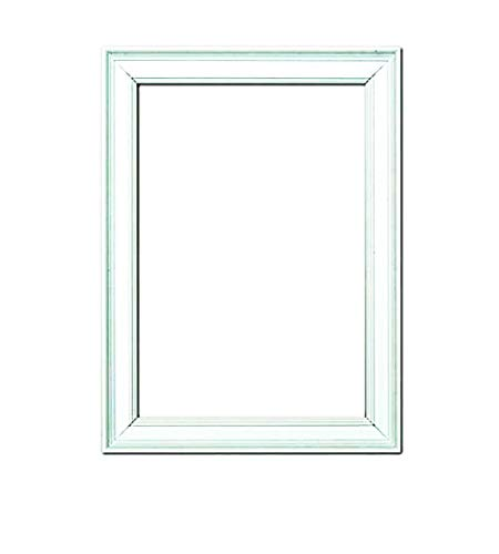 (Paintings Frames Oslo Shabby Chic Range Picture/Photo/Poster Frame Poster Display-with an MDF Backing Board Colour Frame Oslo-Scr-Wht-A3 A3 White)