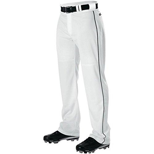 AllesonメンズワープニットBraided野球パンツ B00I7TC9RI Large|ホワイト/ブラック ホワイト/ブラック Large