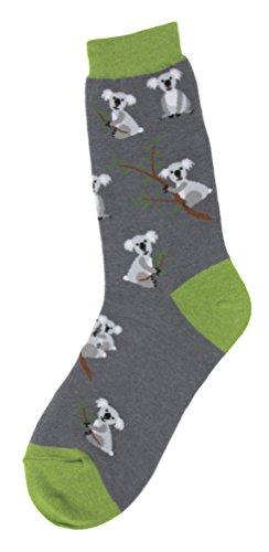 Foot Traffic -Women's Animal-Themed Socks, Koala (Shoe Sizes 4-10)]()