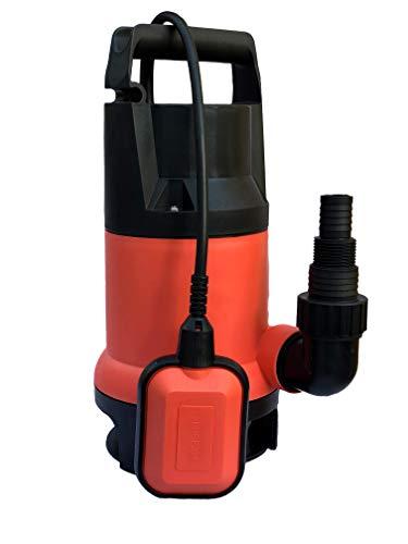 Bomba Sumergible para Agua Sucia y Limpia 1 HP (750 W)