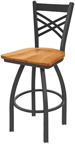 Holland Bar Stool Co. 82025PWMedMpl 820 Catalina Counter Stool, 25 Seat Height, Medium Maple