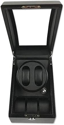 ZYL-YL 自動ウォッチワインダー、機械式時計シェーカーウォッチ自動スピンボックスウォッチ収納ボックスのボックスを巻き、A (Color : B)
