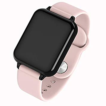 ETbotu Smartwatch B57 Pantalla a Color Pulsera de Ejercicios Monitor de Actividad Monitor de presión Arterial de frecuencia cardíaca Reloj Rosado
