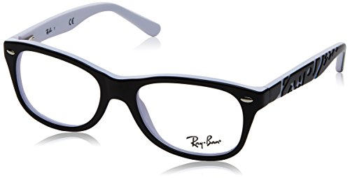 Optical frame Ray Ban Acetate Black - White (RY1544 3579) by Ray-Ban