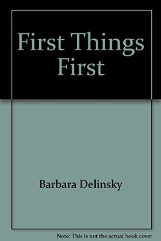 book cover of First Things First