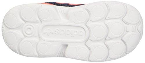 adidas Unisex-Kinder ZX Flux 360 I Krabbelschuhe Multicolore (Legink/Sorang/Ftwwht)