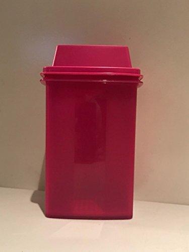 Tupperware Pick a Deli Square 8 Cup (Large) Container Raspberry Radish Dome
