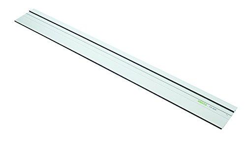 Festool Führungsschiene mit Haftunterlage an Unterseite und Zusätzliche Nut FS 1400/2 (Länge 1400 mm, Breite 250 mm), 491498