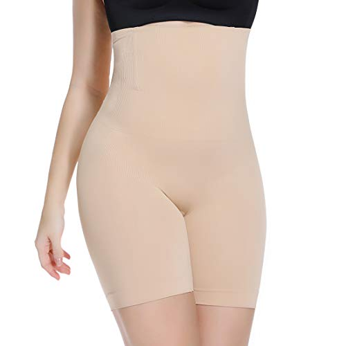 Slip Shorts for Under Dresses High Waist Tummy Control Shapewear Panties Women Thigh Slimmer