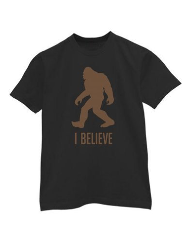 Green Turtle - Bigfoot Black Large T-Shirt