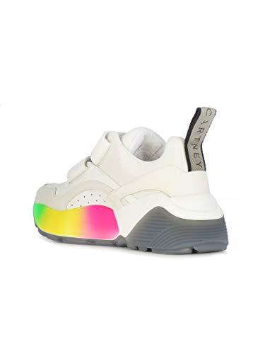 Mccartney Sneakers Bianco Poliestere Stella 501776w1fa49041 Donna dS1q4