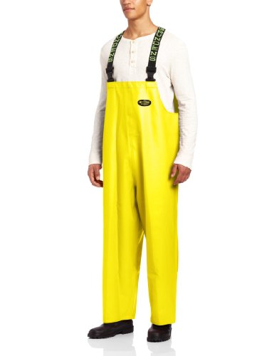 Pvc Bib Pants - Grundéns Clipper Men's Bib Pant, Yellow, X-Large