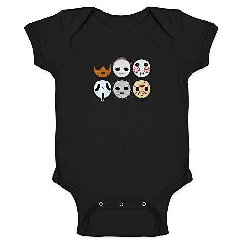 Horror Masks Halloween Costume Monster Black 6M Infant -