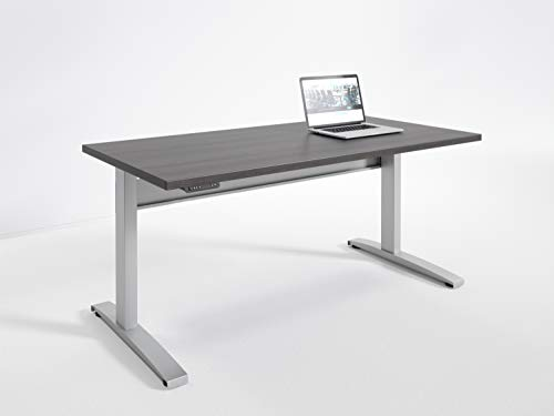 RightAngle NETAAS306030SDW Bonita Electric Height Adjustable Standing Desk Commercial Grade, Assembled in USA, 30 x 60 inches, ()