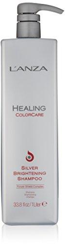 L'ANZA Healing ColorCare Silver Brightening Shampoo, 33.79 - Color Healing Shampoo Care Lanza