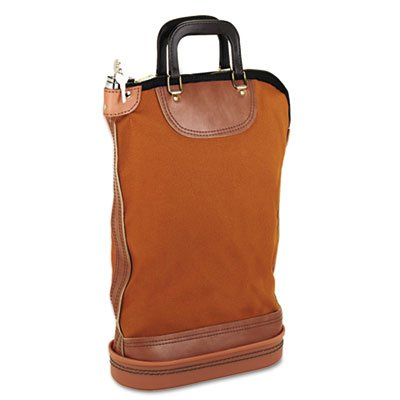 Regulation Post Office Security Mail Bag, Zipper Lock, 14w x 18h, Sold as 1 Each
