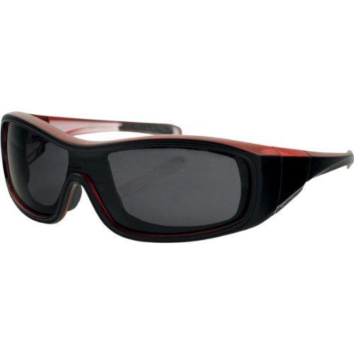 Zoe Convertible Sunglasses, Manufacturer: Bobster Eyewear, ZOE CONVERT BLK/CHRY SMOKE - Zoe Sunglass