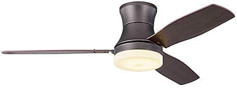 American Country Retro Lámpara De Techo Ventilador, Ventilador De Estar Comedor Dormitorio Lámpara De Madera Del Ventilador De La Hoja