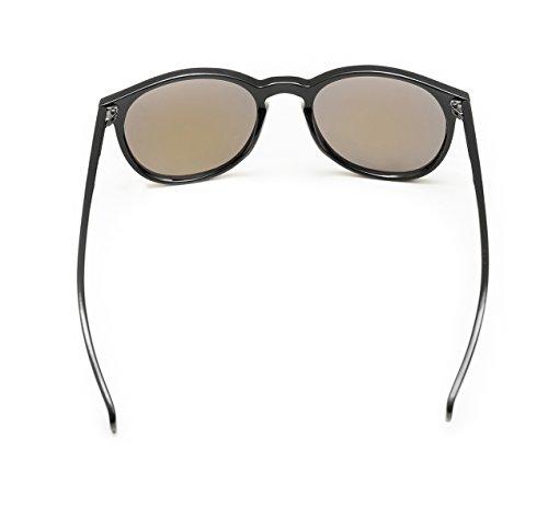 de para sol Evoga Negro Negro Gafas única hombre Talla qR5E1tB