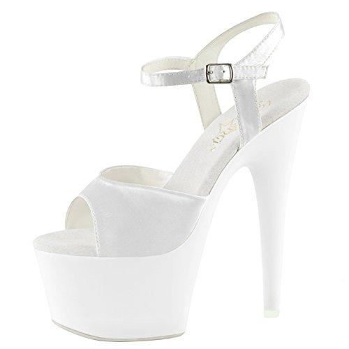 Heels-Perfect - Sandalias de vestir de Material Sintético para mujer Weiss (weiss)