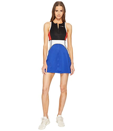 - adidas by Stella McCartney Women's Tennis Dress, Black/Bold Blue, Small