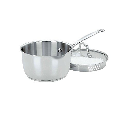 Cuisinart Chef's Classic Stainless 2-Qt. Covered Pour Saucepan