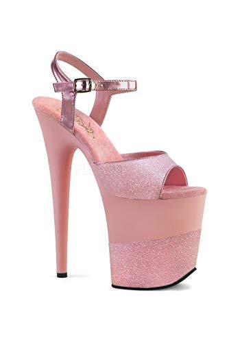 Flamingo b Glitter 2g Glitter Pleaser Mujer 809 Sandalias B Pink Cdq1faS