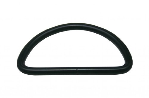 D Ring Buckle Large Size D-Rings 2 Inches Inside Diameter for Backpack Bag Pack of 10 ()