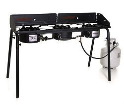 Explorer 3X Three Burner Stove with Wind Screen by Explorer